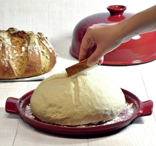 Форма с крышкой для выпечки хлеба Emile Henry, 33,5x28,5x16,5 см, красный Emile Henry 349108 фото 3