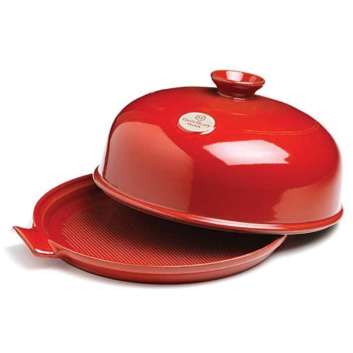Онлайн каталог PROMENU: Форма с крышкой для выпечки хлеба Emile Henry, 33,5x28,5x16,5 см, красный Emile Henry 349108