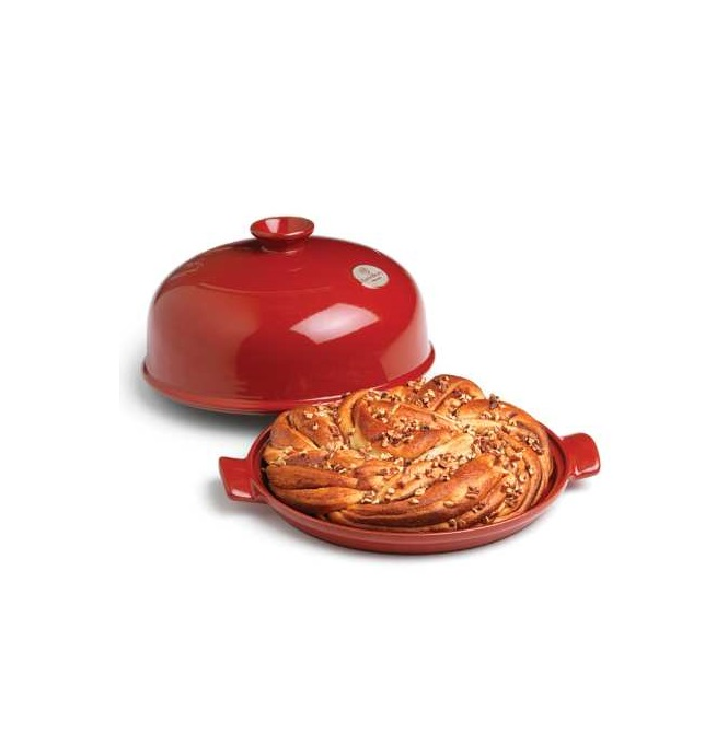 Форма с крышкой для выпечки хлеба Emile Henry, 33,5x28,5x16,5 см, красный Emile Henry 349108 фото 2
