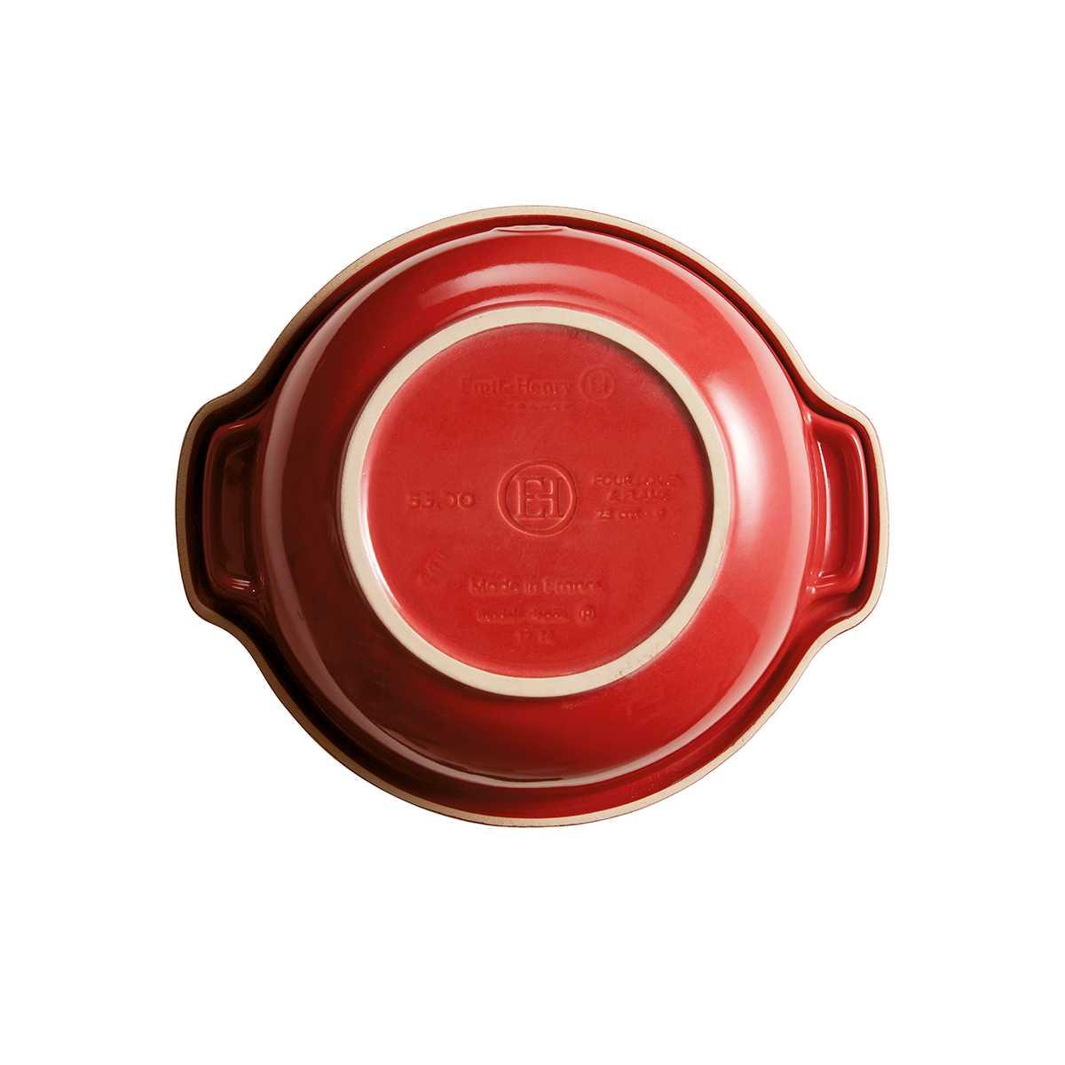 Горшочек для овощей Emile Henry Cookware, объем 2 л, красный Emile Henry 345500 фото 4