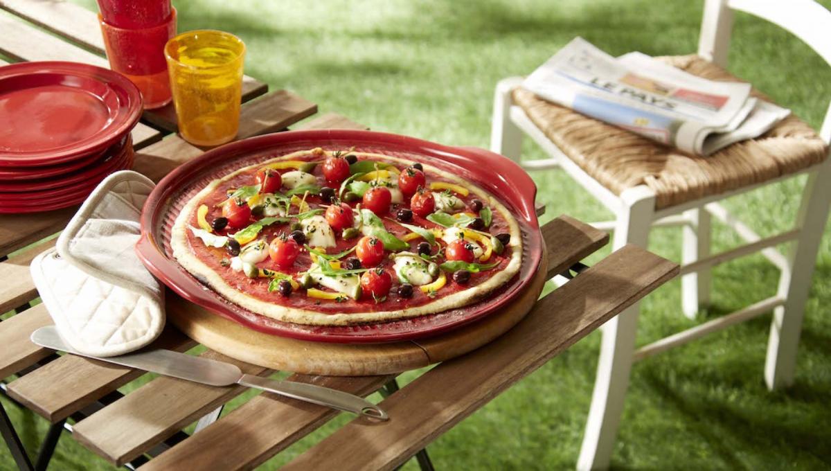 Противень для пиццы Emile Henry, диаметр 30 см, красный Emile Henry 347612 фото 1