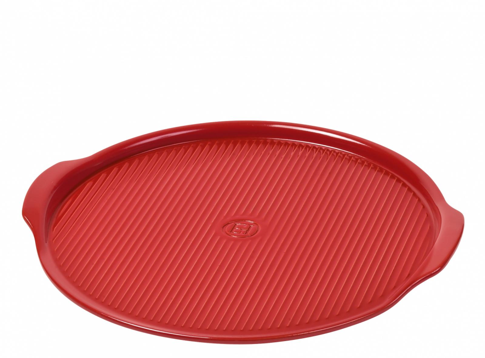 Онлайн каталог PROMENU: Противень для пиццы Emile Henry, 30 см, красный                               347612