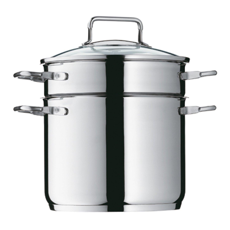 Онлайн каталог PROMENU: Кастрюля для мучных изделий WMF, объем 4 л, диаметр 20 см, серебристый WMF 07 2091 6040