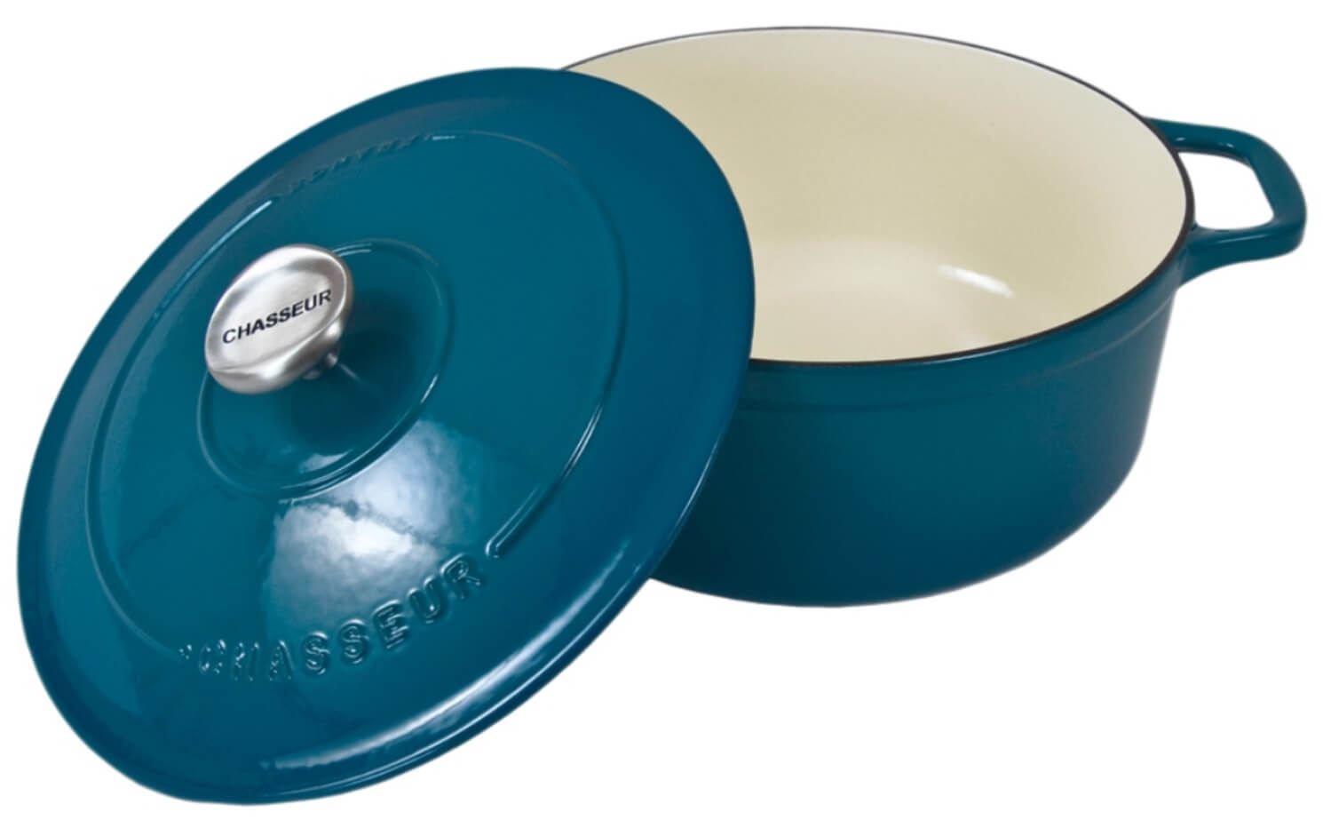 Онлайн каталог PROMENU: Кастрюля с крышкой Chasseur, объем 2,5 л, синяя Chasseur 472041