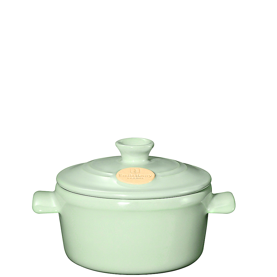Онлайн каталог PROMENU: Кастрюля с крышкой Emile Henry Cookware, объем 0,3 л, мятный                               744533