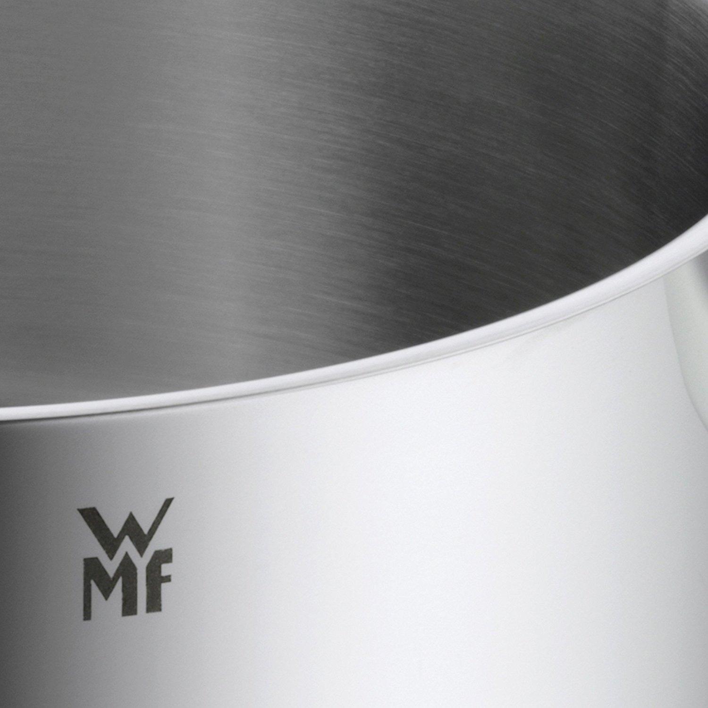 Кастрюля с крышкой высокая WMF QUALITY ONE, объем 2 л, диаметр 16 см, серебристый с красным WMF 07 7516 6380 фото 2