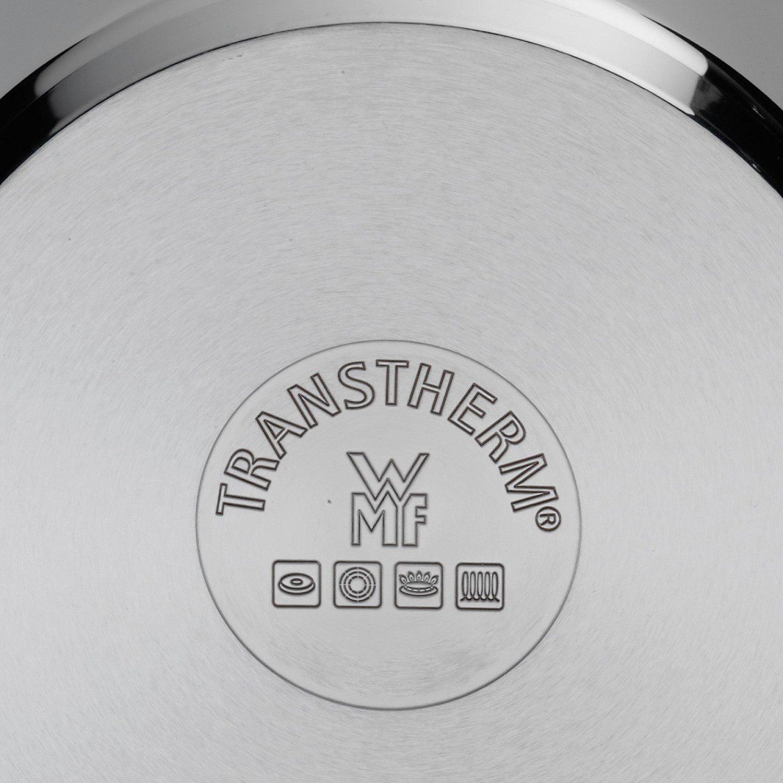 Кастрюля с крышкой высокая WMF QUALITY ONE, объем 2 л, диаметр 16 см, серебристый с красным WMF 07 7516 6380 фото 3