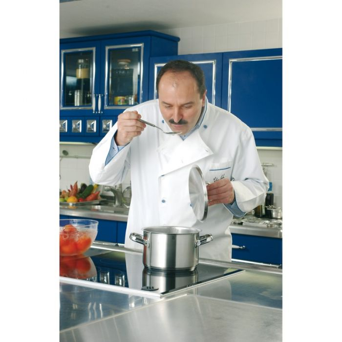 Кастрюля высокая с крышкой WMF Gourmet Plus, объем 3,7 л, диаметр 20 см WMF 07 2420 6030 фото 1
