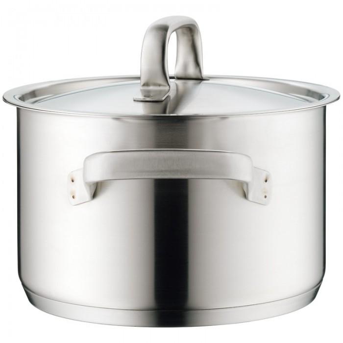 Кастрюля высокая с крышкой WMF Gourmet Plus, объем 3,7 л, диаметр 20 см WMF 07 2420 6030 фото 3