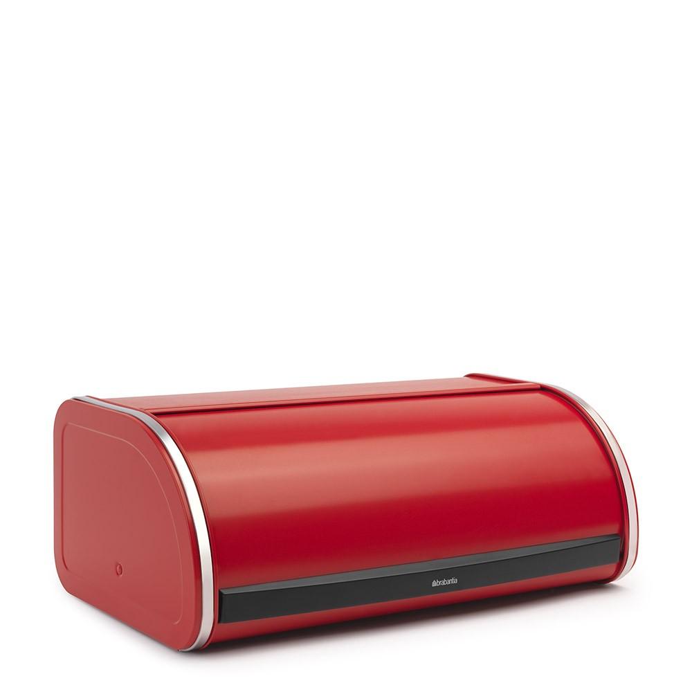 Хлебница с выдвигающейся крышкой Brabantia, 44,5х27х17,5 см, красная Brabantia 484001 фото 1