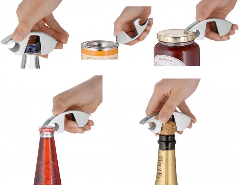 Ключ консервный универсальный WMF BAR AND WINE, серебристый WMF 06 4063 6030 фото 7