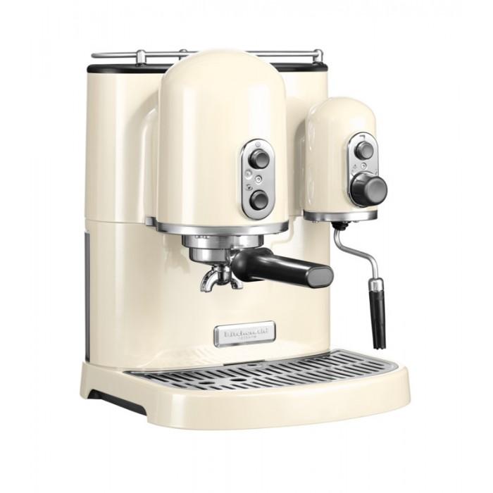 Кофемашина рожковая с 2 бойлерами KitchenAid ARTISAN, кремовый KitchenAid 5KES2102EAC фото 3