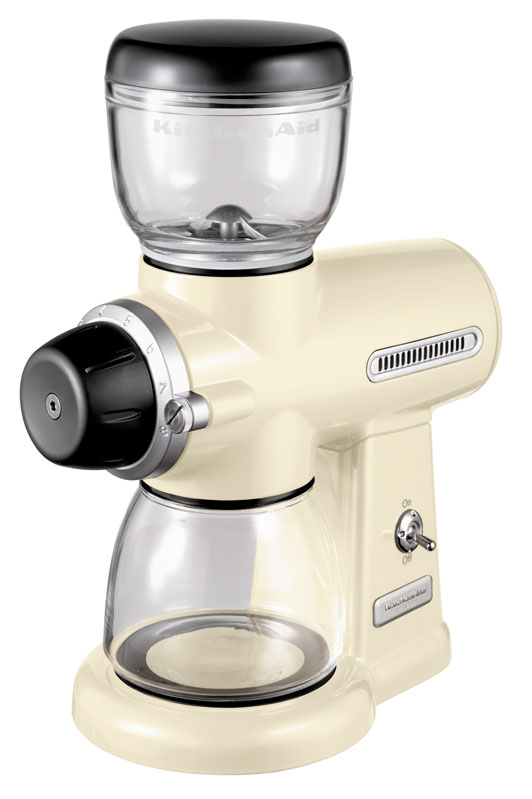 Онлайн каталог PROMENU: Кофемолка KitchenAid Artisan, кремовый KitchenAid 5KCG100EAC