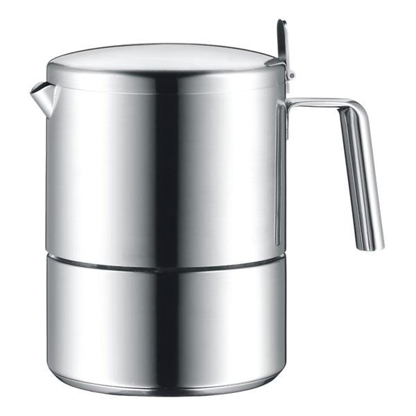 Онлайн каталог PROMENU: Кофеварка для эспрессо на 6 чашек WMF Kult WMF 06 3101 6030