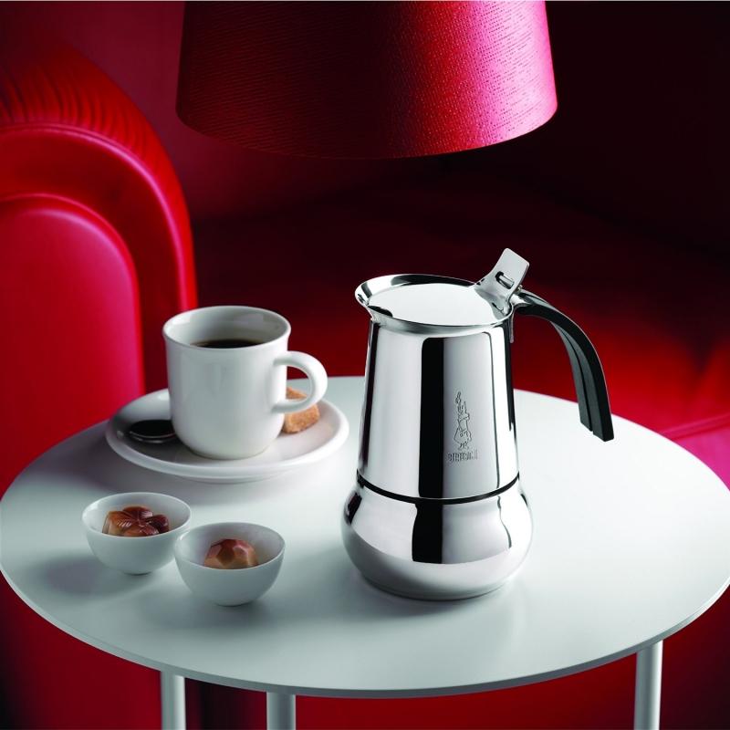"Кофеварка гейзерная ""Kitty"" на 2 чашки Bialetti KITTY, серебристый Bialetti 0004888IN фото 7"