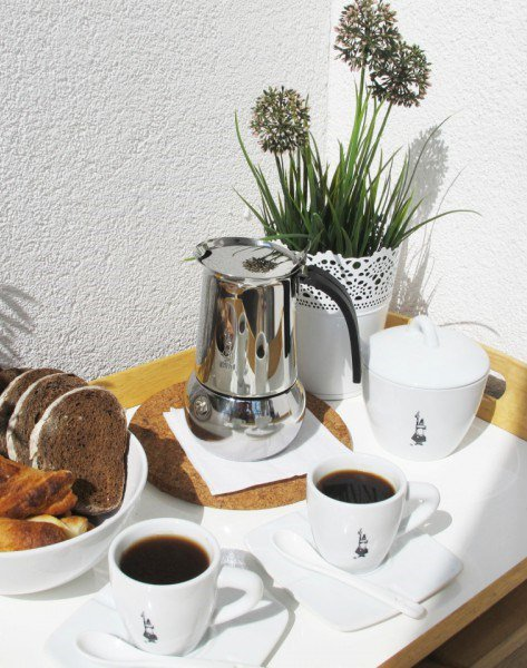 "Кофеварка гейзерная ""Kitty"" на 4 чашки Bialetti  KITTY, серебристый Bialetti 0004882/IN фото 3"