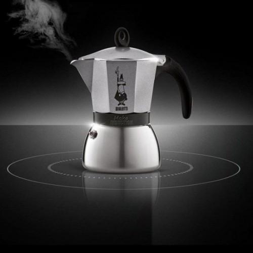 """Кофеварка гейзерная """"Moka induction"""" на 3 чашки Bialetti MOKA INDUCTION, серебристый Bialetti 0004822X4 фото 1"""