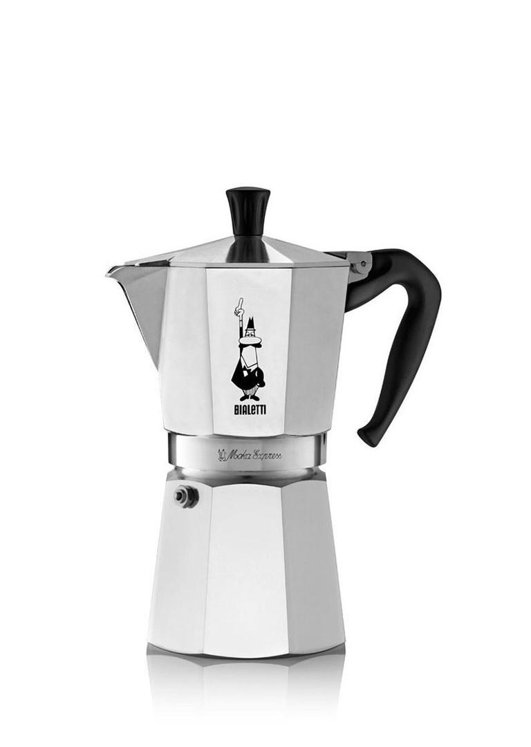 """Кофеварка гейзерная """"Moka express"""" на 9 чашек Bialetti  MOKA EXPRESS, серебристый Bialetti 0001165X4 фото 0"""