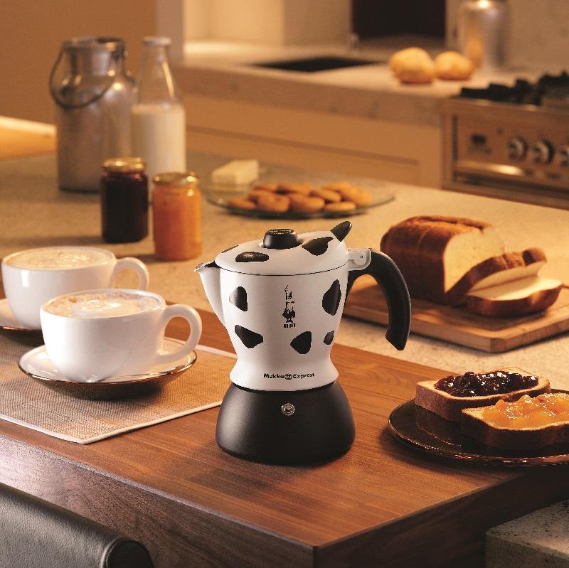 "Кофеварка гейзерная ""Mukka"" на 2 чашки Bialetti MUKKA, черный с белым Bialetti 0003418/NP фото 5"