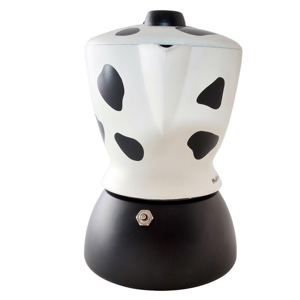 "Кофеварка гейзерная ""Mukka"" на 2 чашки Bialetti MUKKA, черный с белым Bialetti 0003418/NP фото 2"