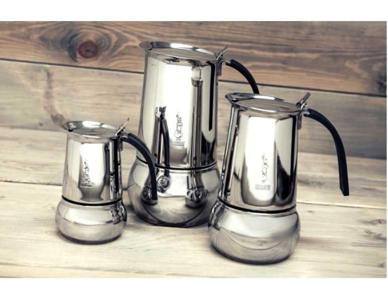 """Кофеварка гейзерная индукционная """"Kitty"""" на 6 чашек Bialetti KITTY, серебристый Bialetti 0004883IN фото 10"""