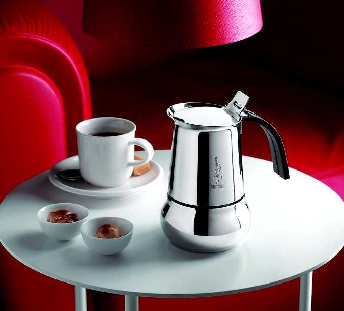 """Кофеварка гейзерная индукционная """"Kitty"""" на 6 чашек Bialetti KITTY, серебристый Bialetti 0004883IN фото 7"""