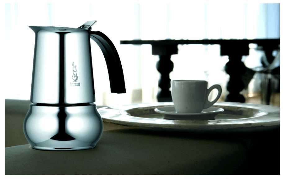 """Кофеварка гейзерная индукционная """"Kitty"""" на 6 чашек Bialetti KITTY, серебристый Bialetti 0004883IN фото 9"""
