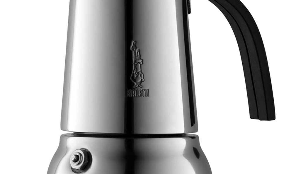 """Кофеварка гейзерная индукционная """"Kitty"""" на 6 чашек Bialetti KITTY, серебристый Bialetti 0004883IN фото 4"""