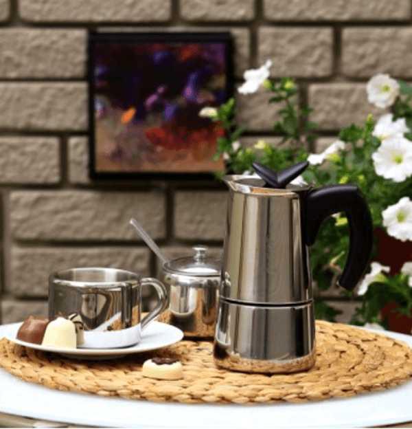 "Кофеварка гейзерная индукционная ""Musa"" на 6 чашек Bialetti MUSA, серебристый Bialetti 0004273 фото 8"