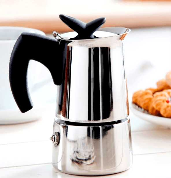 "Кофеварка гейзерная индукционная ""Musa"" на 6 чашек Bialetti MUSA, серебристый Bialetti 0004273 фото 2"