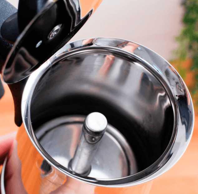 "Кофеварка гейзерная индукционная ""Musa"" на 6 чашек Bialetti MUSA, серебристый Bialetti 0004273 фото 5"