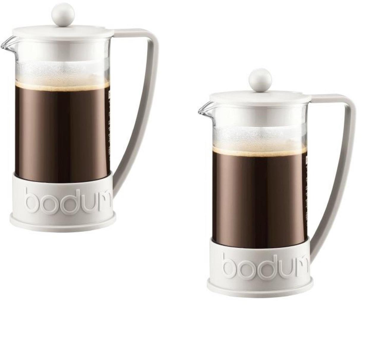 Кофейник френч-пресс Bodum Brazil, 0,35 л, белый Bodum 10948-913 фото 2