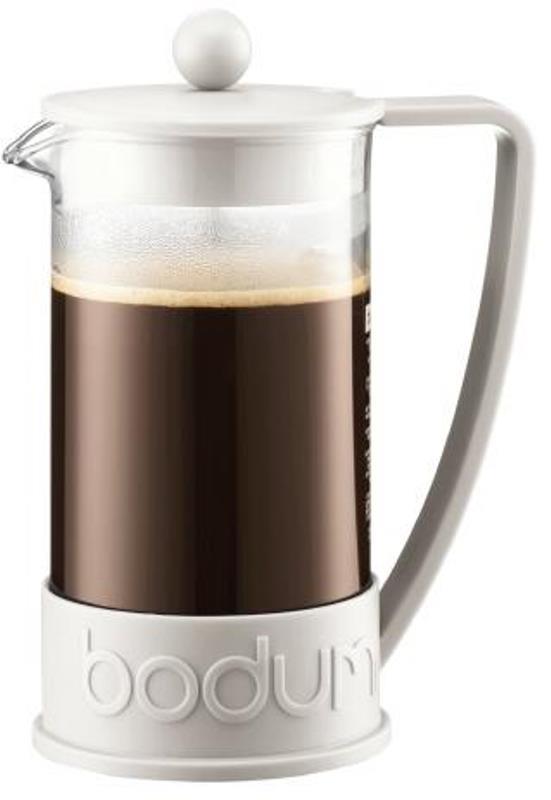 Кофейник френч-пресс Bodum Brazil, 0,35 л, белый Bodum 10948-913 фото 1