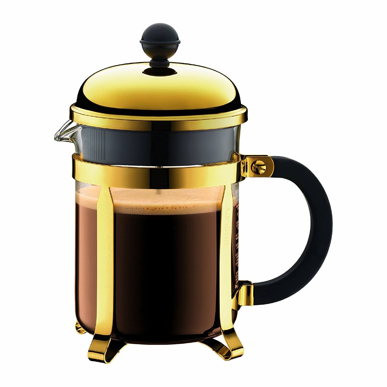 Онлайн каталог PROMENU: Кофейник френч-пресс Bodum Chambord, объем 0,5 л                               1924-17