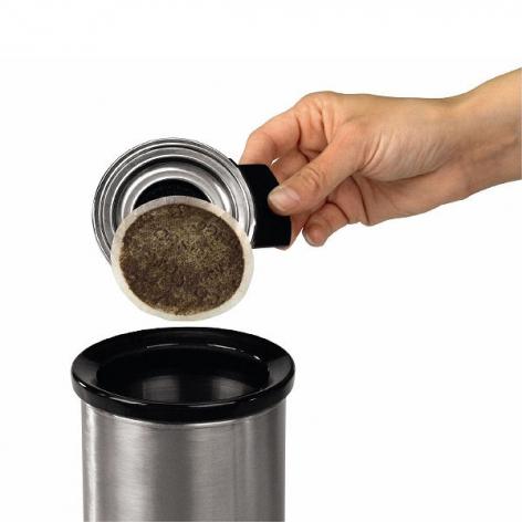 Контейнер для мусора настольный Brabantia, диаметр 11 см, высота 12 см Brabantia 371424 фото 1