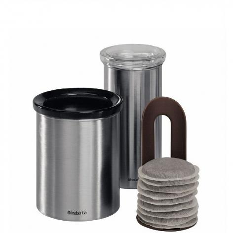 Контейнер для мусора настольный Brabantia, диаметр 11 см, высота 12 см Brabantia 371424 фото 3