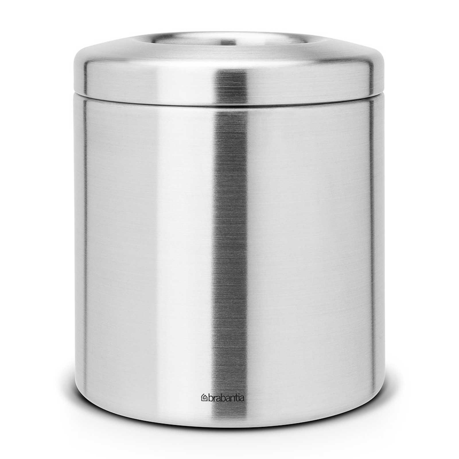 Онлайн каталог PROMENU: Контейнер для мусора настольный Brabantia, диаметр 14 см, высота 16,5 см, объем 1 л Brabantia 297960