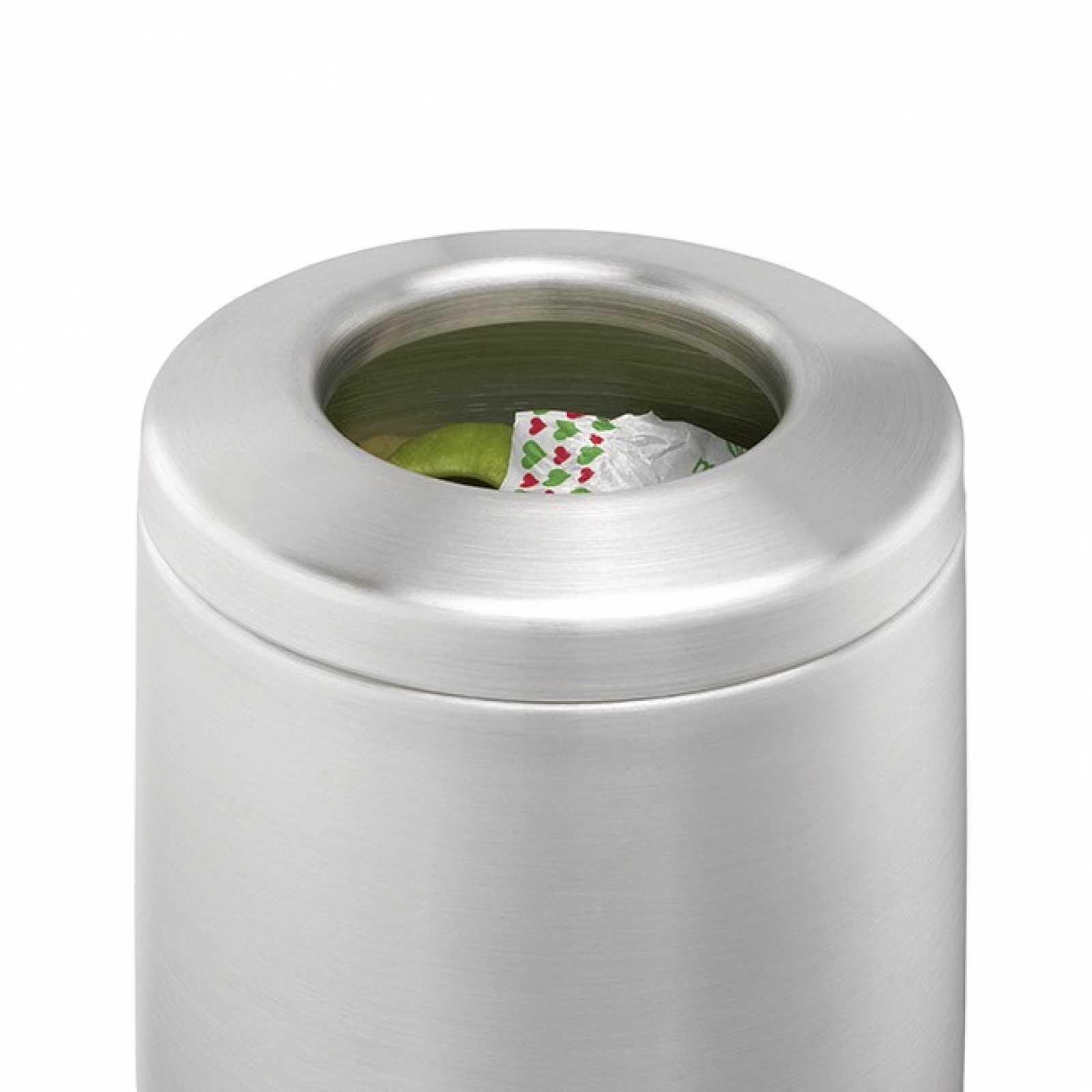 Контейнер для мусора настольный Brabantia, диаметр 14 см, высота 16,5 см, объем 1 л Brabantia 297960 фото 1