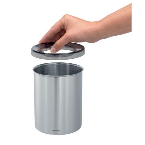 Контейнер для мусора настольный с пластиковым кольцом Brabantia Brabantia 477386 фото 4