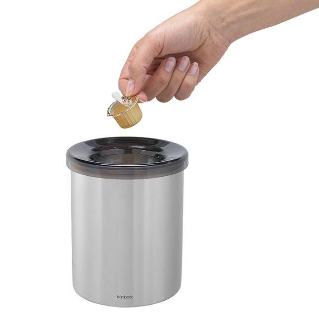 Контейнер для мусора настольный с пластиковым кольцом Brabantia Brabantia 477386 фото 1