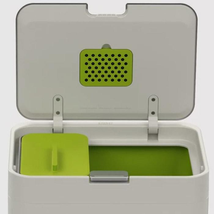 Контейнер для сортировки мусора Joseph Joseph totem, 50 л, 40х30х65,6 см, белый Joseph Joseph 30003 фото 6