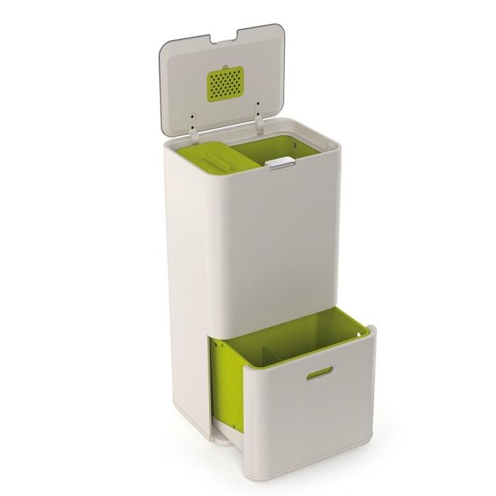 Онлайн каталог PROMENU: Контейнер для сортировки мусора Joseph Joseph totem, 50 л, 40х30х65,6 см, белый Joseph Joseph 30003