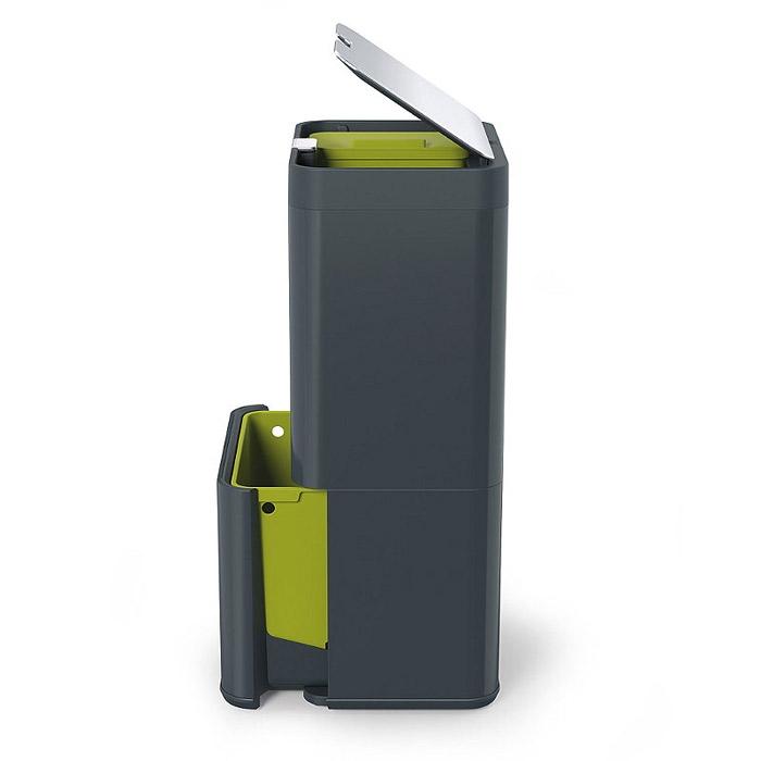 Контейнер для сортировки мусора Joseph Joseph totem, 50 л, 40х30х65,6 см, серый Joseph Joseph 30004 фото 2