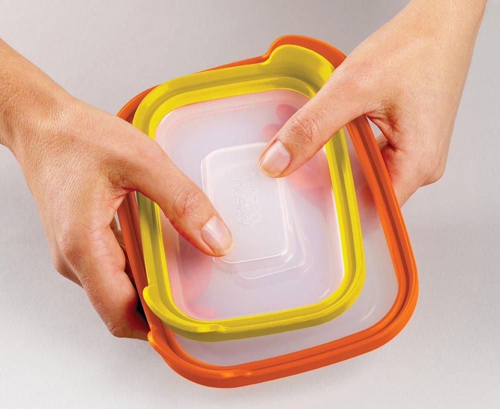 Набор контейнеров для хранения продуктов Joseph Joseph nest, прямоугольные, 0,2 и 0,5 л, 2 предмета Joseph Joseph 81012 фото 3