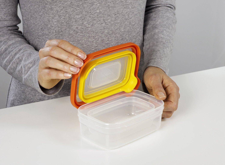 Набор контейнеров для хранения продуктов Joseph Joseph nest, прямоугольные, 0,2 и 0,5 л, 2 предмета Joseph Joseph 81012 фото 1