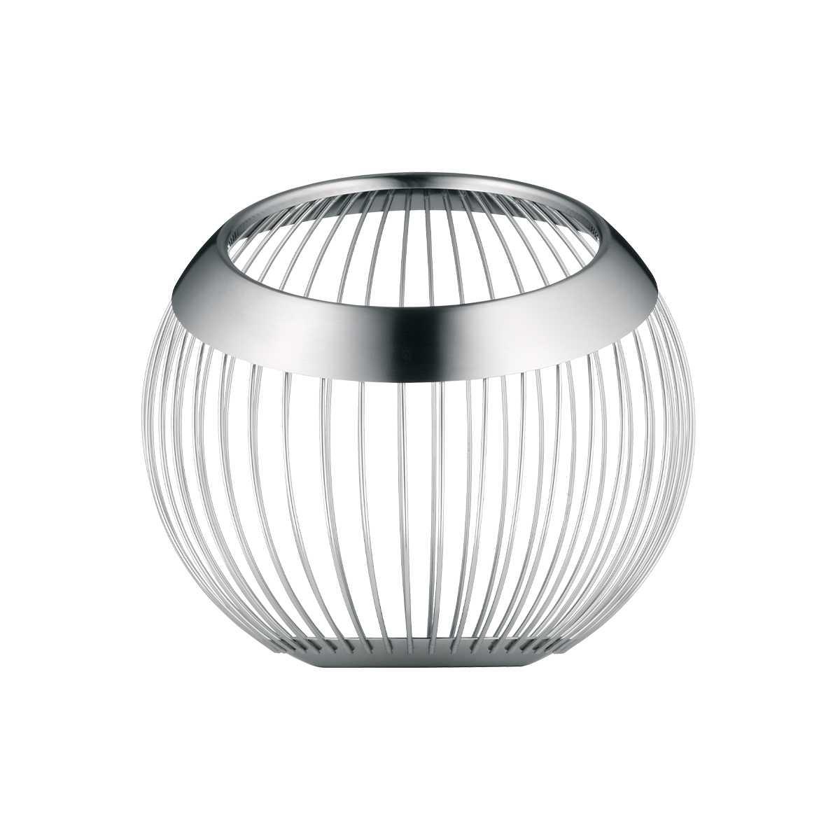 Онлайн каталог PROMENU: Корзина WMF HOME DECOR, диаметр 13 см, ширина 18,5 см, серебристый WMF 06 6507 6030