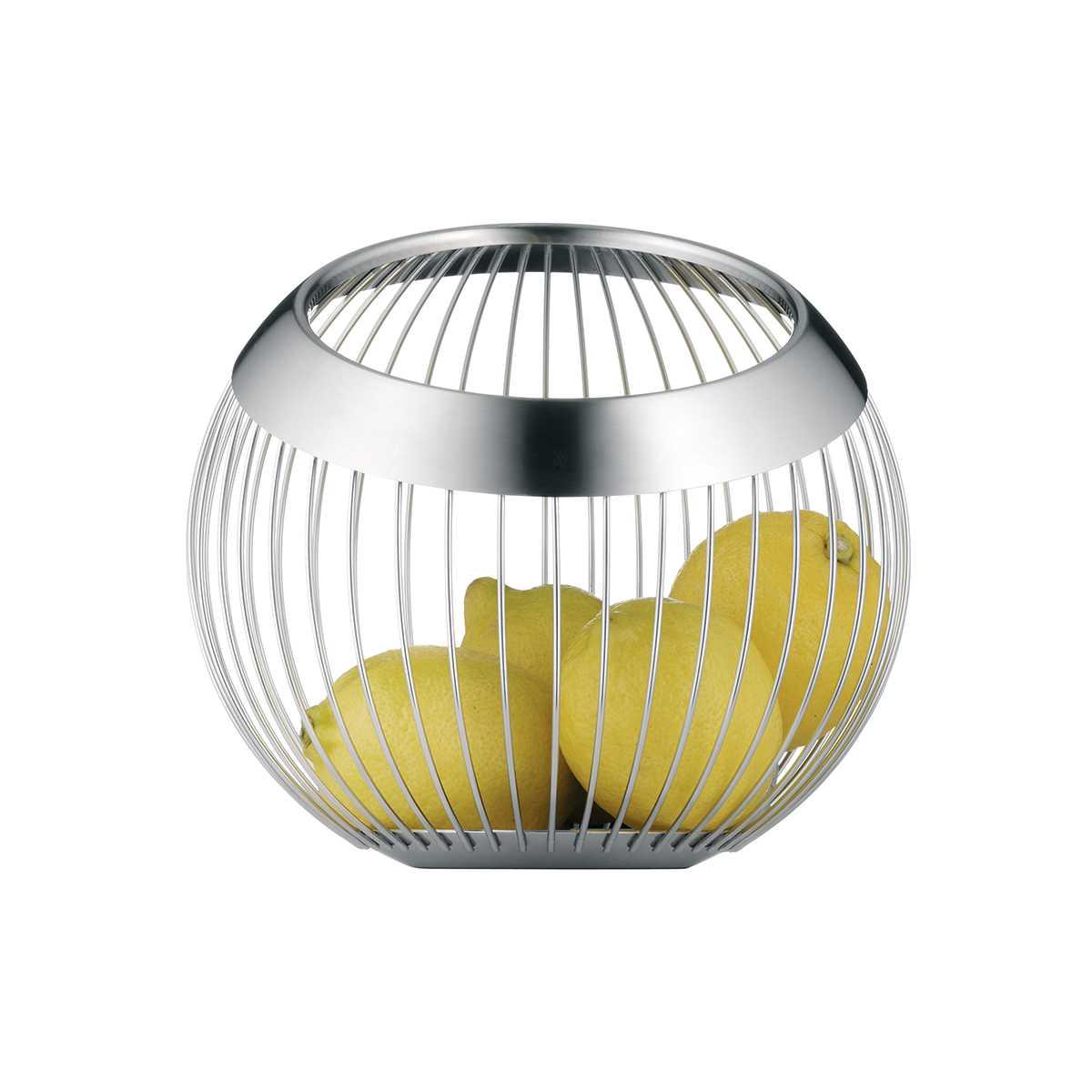 Корзина WMF HOME DECOR, диаметр 13 см, ширина 18,5 см, серебристый WMF 06 6507 6030 фото 1
