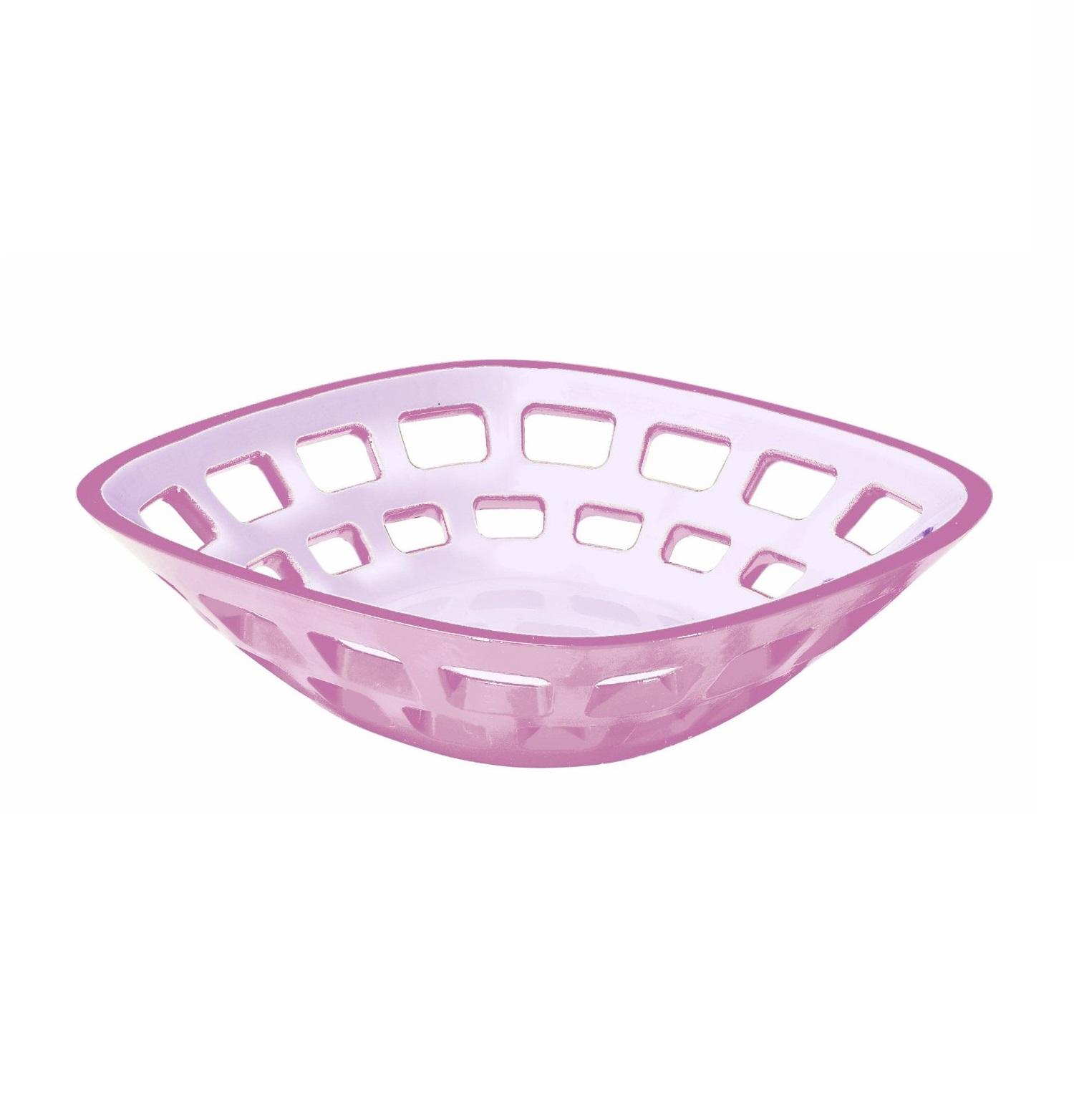 Онлайн каталог PROMENU: Корзина для хлеба пластиковая Guzzini Glam, 24x24 см, фиолетовый                               23640047