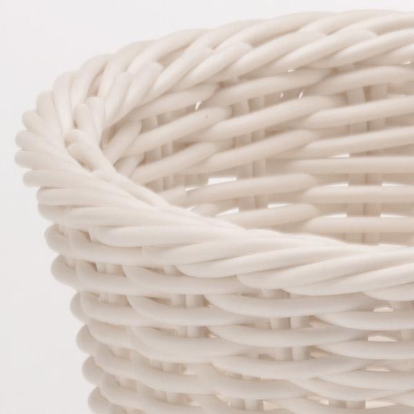 Корзина овальная Saleen, 23,5х18х8 см, белый Saleen 02096110101 фото 1