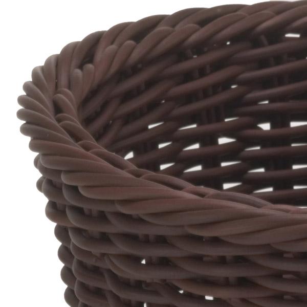 Корзина овальная Saleen, 23,5х18х8 см, коричневый Saleen 02096106101 фото 3